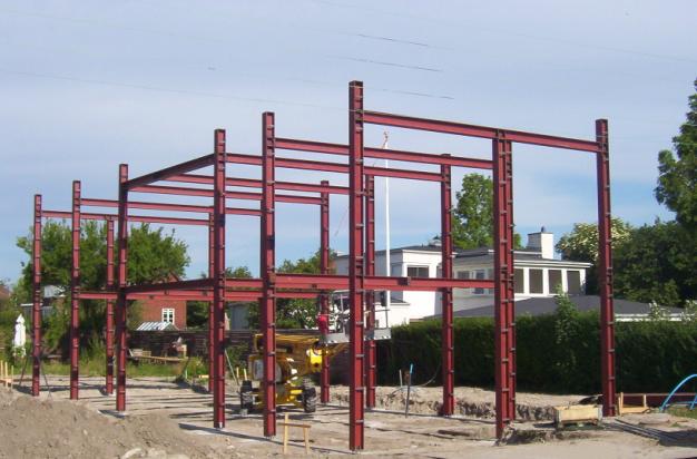 Rustfri stålkonstruktion